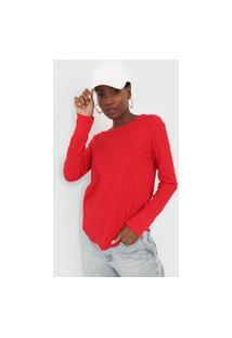 Camiseta Gap Textura Vermelha