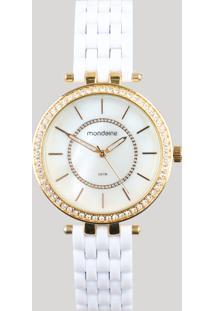 106b3f5bb7e Relógio Analógico Mondaine Feminino - 53664Lpmvde2 Dourado - Único