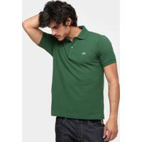 Camisa Polo Lacoste Original Fit Masculina - Masculino-Verde Militar d396025775