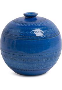 Bitossi Ceramiche Vaso Ball - Azul