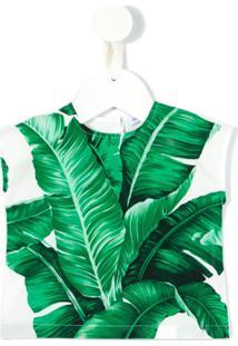Dolce & Gabbana Kids Blusa Estampada - Green