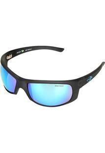 Óculos De Sol Mormaii 00287D2212 Lente Espelhada Masculino - Masculino-Preto