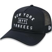 a660c9885fdee Boné 940 A-Frame New York Yankees Mlb Aba Curva New Era - Masculino