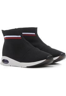 Sapato Molekinha Infantil 2531-105-17829 - Feminino-Preto+Branco