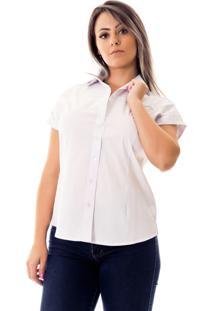 5a0b06feb1 Camisa Pimenta Rosada Laura Branca