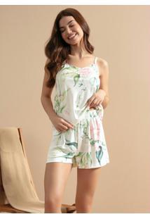 Pijama Alcinha Floral
