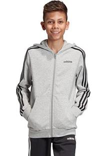 Jaqueta Infantil Adidas Capuz Yb E 3S Fz Hd Masculina - Masculino
