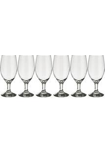 Conjunto De 6 Taças De Vinho Windsor Transparente