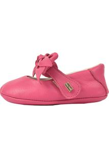 a70d5ba336 Sapatilha Boneca Menina Doce Bebê Pink Com Laço Na Ponta