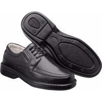 4efe4c850 Sapato Casual Super Flexivel Masculino - Masculino-Preto