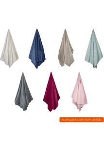 Cobertor Solteiro Flannel I Colorido 150X220 Cm
