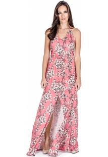 Vestido Longo Floral Colcci - Feminino