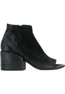Marsèll Ankle Boot De Couro 'Bo Sandalo' - Preto