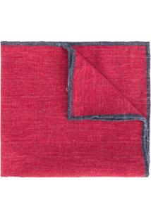 Eleventy Cachecol Liso - Vermelho