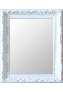 Espelho Moldura Rococó Raso 16139 Branco Art Shop