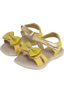 Papete Klin Charminho Comfort Infantil Amarela/Dourada