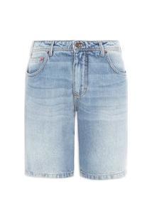 Bermuda Masculina Jeans Paul Slim - Azul