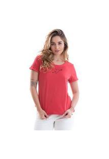 T-Shirt Its&Co Roterdã Vermelho