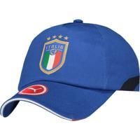 Boné Puma Itália Training Azul c6ab8138251