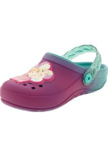 Clog Infantil Feminino Fairytale Pink Grendene Kids - 21747