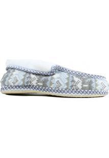 Pantufa Ricsen Sapato Cinza