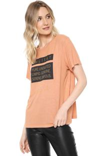 Camiseta Forum Lettering Laranja