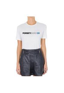 Camiseta Forseti Pet Energy20 Branca