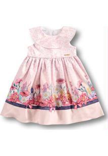 Vestido Rosa Menina