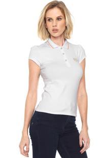 Camisa Pólo Lunender Rosa feminina  35ee06114f834