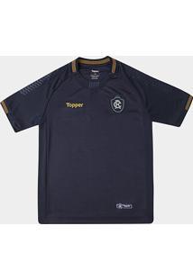 Camisa Remo I 2018 S/N° Torcedor Topper Juvenil - Unissex