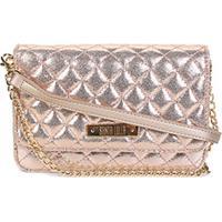 Bolsa Santa Lolla Mini Bag Matelassê Alça Corrente Feminina - Feminino-Ouro  Rosa 39565f2c3e1c0