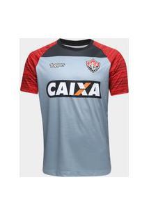 Camisa Vitória De Treino Atleta 2018 Cinza 4201633-167