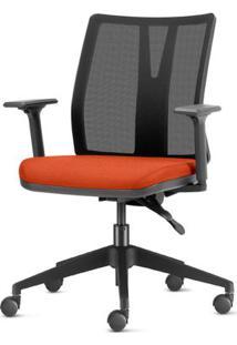 Cadeira Addit Assento Crepe Coral Com Base Piramidal Em Nylon - 54109 Sun House