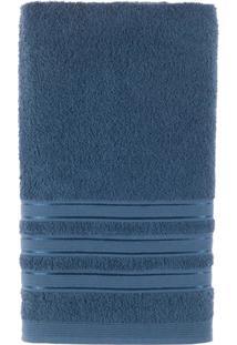 Toalha De Rosto Cores Hanna - 420 G/M² Azul Escuro