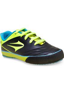 dc3ceef22fb Tenis Masc Infantil Topper 4132588 3720Frontier Jr Vii Preto Verde Neon