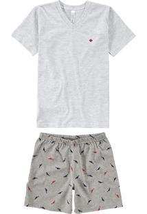 Pijama Mescla Menino
