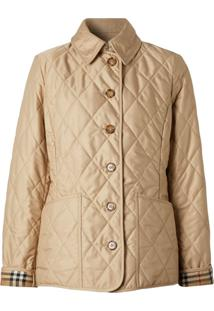 Burberry Diamond Quilted Thermoregulated Jacket - Neutro