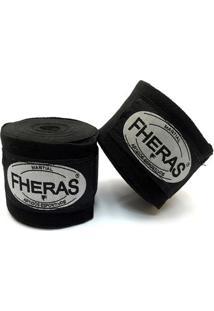 Kit Muay Thai Trad Fheras - Luva+ Bandagem+ Bucal+ Caneleira+ Bolsa+ Shorts - 12Oz - Unissex