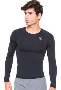 Camisa Esporte Legal Térmica Proteção Uv Preta