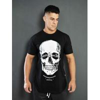 5558d4d6e1 Home Vestuário Esportivo Camisetas Fitness Tradicional. Camiseta Masculina  Diet S 3D Skull V3 - Masculino