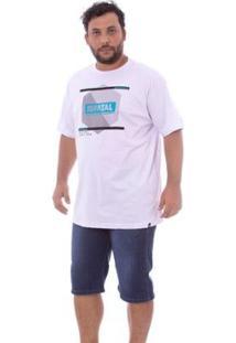 Bermuda Fatal Jeans Regular Confort Fit Azul Masculino - Masculino