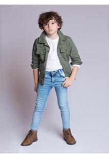 Jaqueta Mrx Jeans Verde