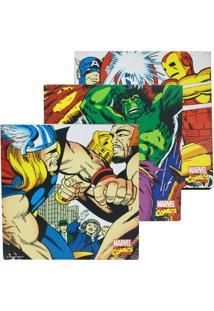 Kit Quadros Marvel Comics