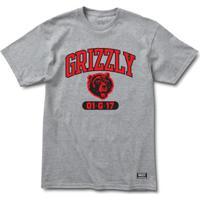 Home Vestuário Esportivo Camisetas Branca Mame. Camiseta Masculina Grizzly  Halftime - Masculino-Cinza a38215eee4ded