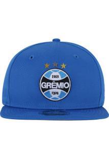 bb6989bd32b50 Boné Aba Reta Do Grêmio New Era 950 Of Sn Primary - Snapback - Adulto -