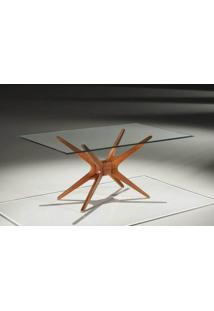 Base Mesa Jantar Retangular Xs Cor Ebano - 16668 - Sun House