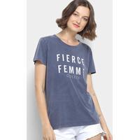 5e1635866 Camiseta Colcci Fierce Femme Feminina - Feminino