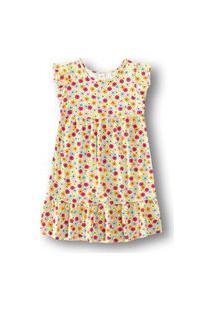 Vestido Marisol Play - 11207279I Bege