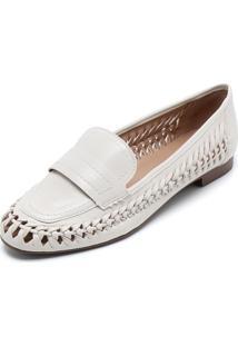 979072716 Mocassim Branco Transpassado feminino | Shoes4you
