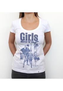 Girls & Boys - Camiseta Clássica Feminina